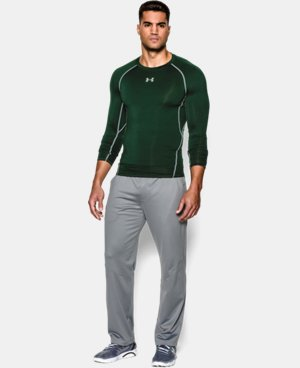 Best Seller  Men's UA HeatGear® Armour Long Sleeve Compression Shirt  1 Color $39.99
