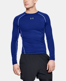 cccb3185 Men's UA HeatGear® Armour Long Sleeve Compression Shirt 1 Color Available  $34.99