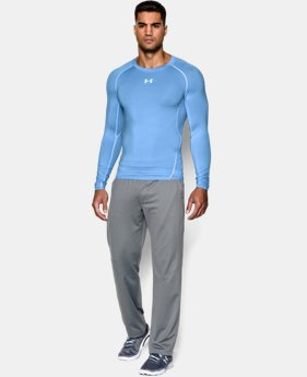 Men's UA HeatGear® Armour Long Sleeve Compression Shirt  2  Colors Available $20.99 to $26.24