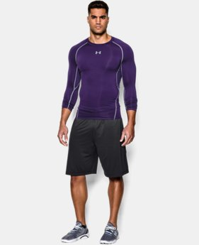 Men's UA HeatGear® Armour Long Sleeve Compression Shirt  1  Color Available $20.99 to $26.99