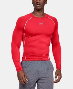 edef34c78d Men's Red Long Sleeve Shirts | Under Armour US