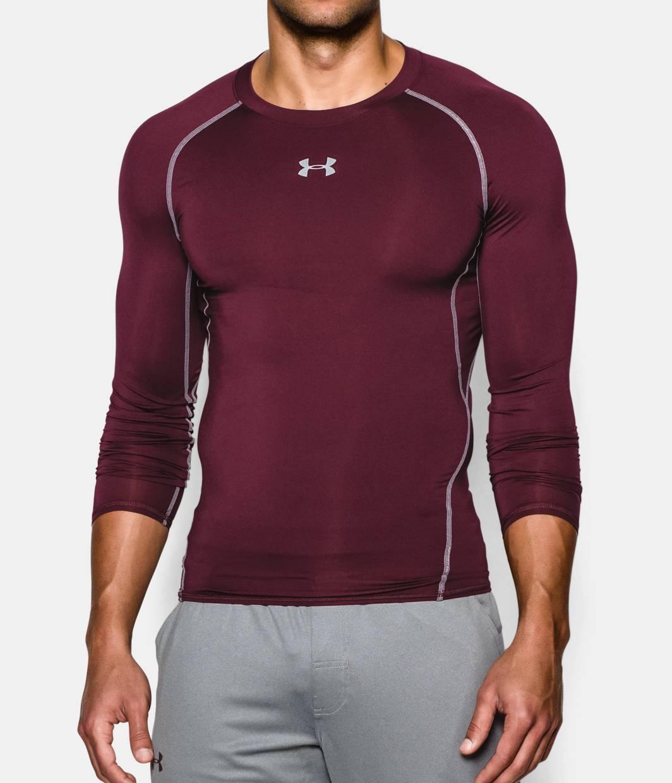 Men 39 S Ua Heatgear Armour Long Sleeve Compression Shirt