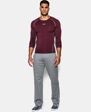 Men's UA HeatGear® Armour Long Sleeve Compression Shirt  3 Colors $34.99