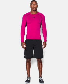 Best Seller Men's UA HeatGear® Armour Long Sleeve Compression Shirt  3 Colors $34.99