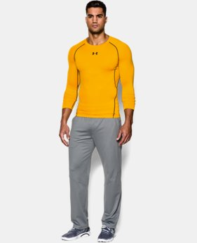 Men's UA HeatGear® Armour Long Sleeve Compression Shirt  3 Colors $26.24