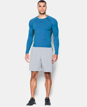 Men's UA HeatGear® Armour Long Sleeve Compression Shirt   $34.99
