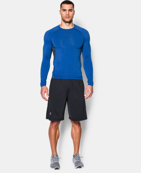 Men's UA HeatGear® Armour Long Sleeve Compression Shirt LIMITED TIME: FREE U.S. SHIPPING 2 Colors $20.24 to $34.99