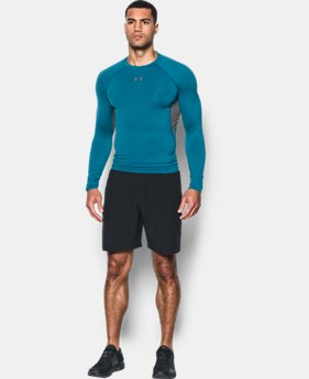 Men's UA HeatGear® Armour Long Sleeve Compression Shirt  4 Colors $34.99