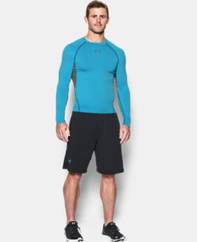 Men's UA HeatGear® Armour Long Sleeve Compression Shirt   $20.24