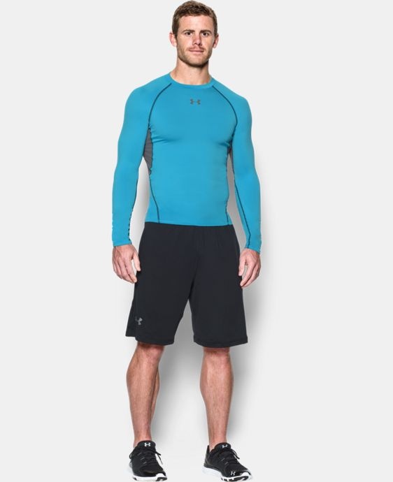 Men's UA HeatGear® Armour Long Sleeve Compression Shirt  1 Color $26.99