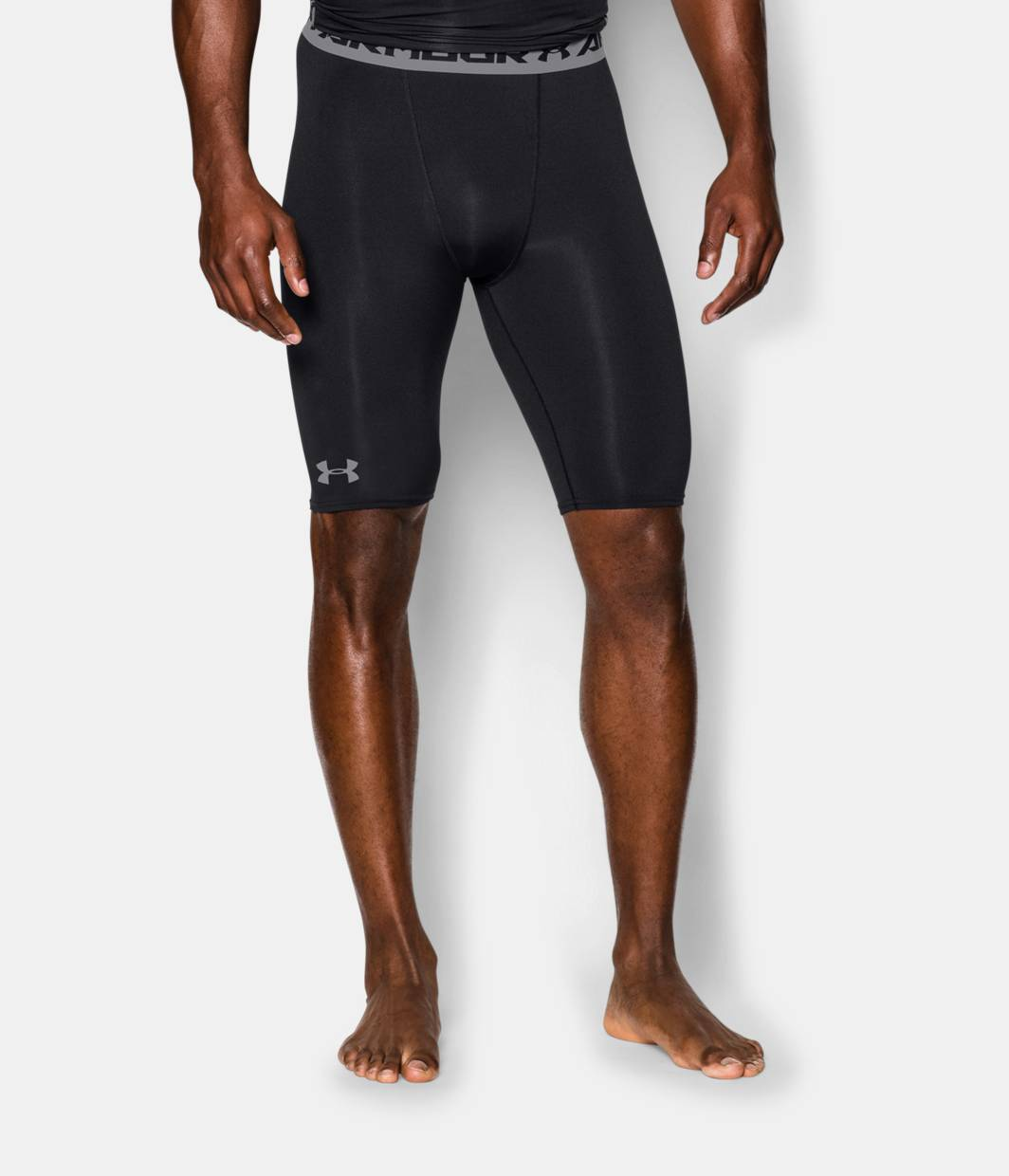 Men's UA HeatGear® Armour Compression Shorts — Long | Under Armour US