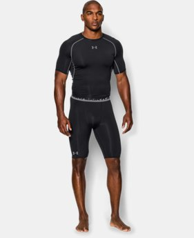 Men's UA HeatGear® Armour Compression Shorts — Long   $29.99