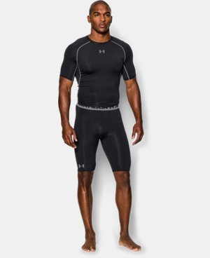Men's UA HeatGear® Armour Compression Shorts – Long   5 Colors $34.99