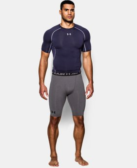 Men's UA HeatGear® Armour Compression Shorts — Long  1 Color $20.99 to $22.99