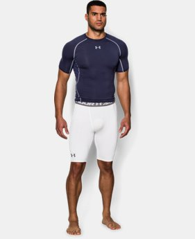 Men's UA HeatGear® Armour Compression Shorts – Long   1 Color $34.99
