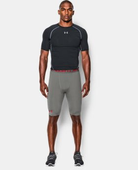 Men's UA HeatGear® Armour Compression Shorts – Long  LIMITED TIME: FREE U.S. SHIPPING 1 Color $17.24 to $22.99