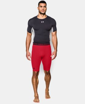 Men's UA HeatGear® Armour Compression Shorts — Long  1 Color $22.99 to $26.99