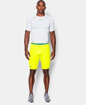 Men's UA HeatGear® Armour Compression Shorts – Long   1 Color $17.24 to $17.99