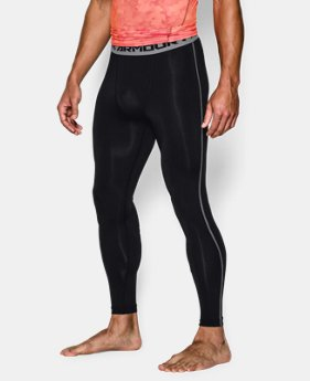 Men's UA HeatGear® Armour Compression Leggings  4 Colors $20.99 to $27.99
