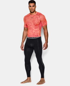 Men's UA HeatGear® Armour Compression Leggings EXTENDED SIZES 3 Colors $39.99