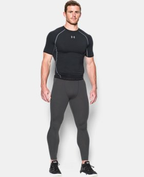 Men's UA HeatGear® Armour Compression Leggings EXTENDED SIZES 2 Colors $39.99