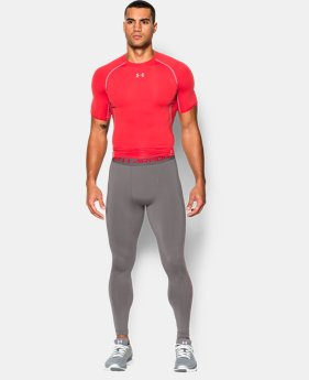 Men's UA HeatGear® Armour Compression Leggings EXTENDED SIZES 5 Colors $23.99 to $29.99