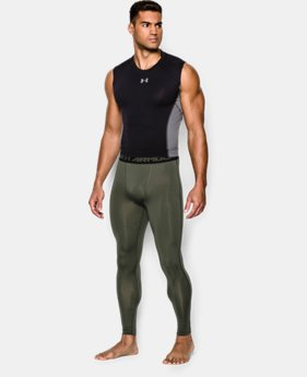 Men's UA HeatGear® Armour Compression Leggings LIMITED TIME: UP TO 50% OFF 1 Color $22.49 to $29.99
