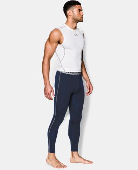 Men's UA HeatGear® Armour Compression Leggings EXTENDED SIZES  $39.99