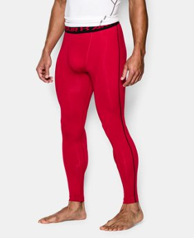 Men's UA HeatGear® Armour Compression Leggings LIMITED TIME: FREE SHIPPING 4 Colors $33.99