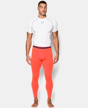 Men's UA HeatGear® Armour Compression Leggings EXTENDED SIZES  $29.99