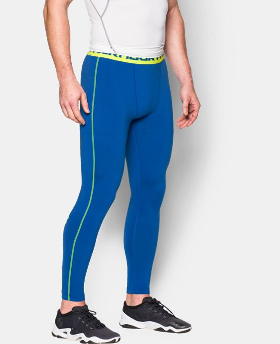 Men's UA HeatGear® Armour Compression Leggings  1 Color $22.49