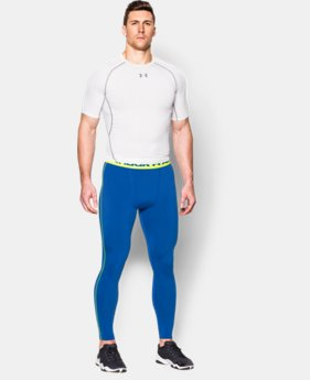 Men's UA HeatGear® Armour Compression Leggings EXTENDED SIZES 1 Color $29.99