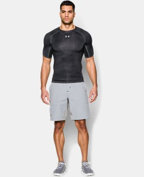 Men's UA HeatGear® Armour Printed Short Sleeve Compression Shirt  17 Colors $19.99 to $24.99