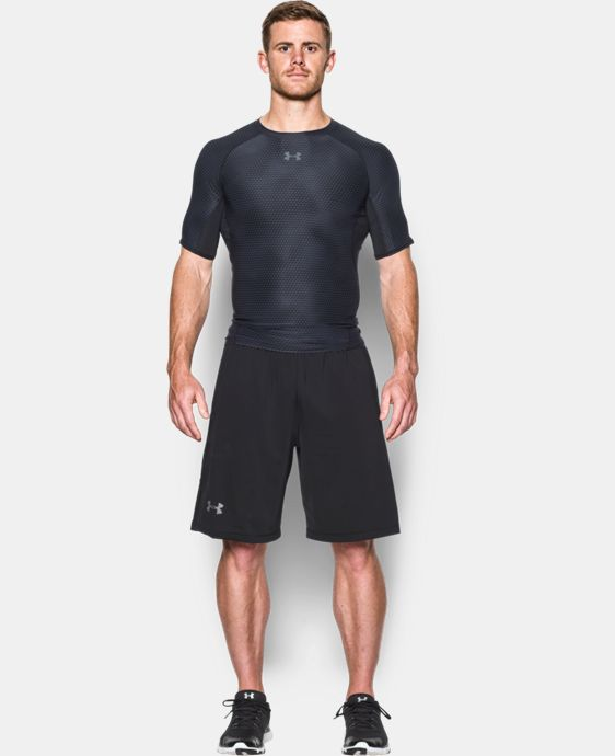 Men's UA HeatGear® Armour Printed Short Sleeve Compression Shirt LIMITED TIME: FREE U.S. SHIPPING 2 Colors $18.74 to $24.99