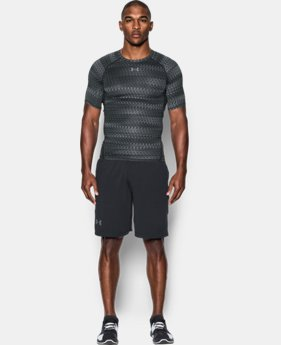 Men's UA HeatGear® Armour Printed Short Sleeve Compression Shirt  1 Color $23.99