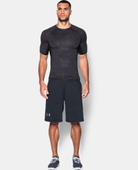 Men's UA HeatGear® Armour Printed Short Sleeve Compression Shirt  7 Colors $18.74 to $24.99