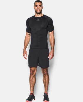Men's UA HeatGear® Armour Printed Short Sleeve Compression Shirt  2 Colors $34.99