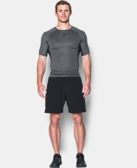 Men's UA HeatGear® Armour Printed Short Sleeve Compression Shirt LIMITED TIME: FREE U.S. SHIPPING 1  Color Available $32.99