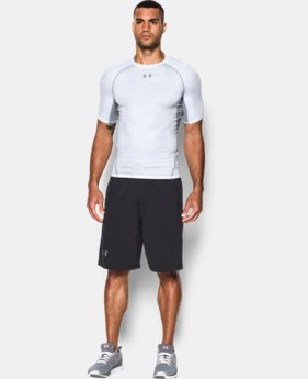 Men's UA HeatGear® Armour Printed Short Sleeve Compression Shirt  3 Colors $26.99