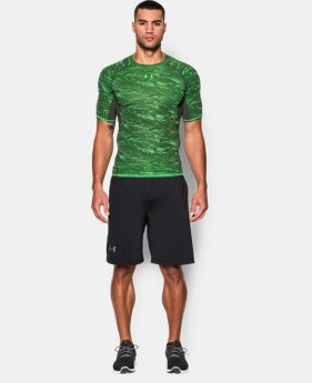 Men's UA HeatGear® Armour Printed Short Sleeve Compression Shirt  1 Color $19.99 to $24.99