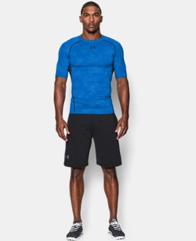 Men's UA HeatGear® Armour Printed Short Sleeve Compression Shirt LIMITED TIME: FREE U.S. SHIPPING 5 Colors $18.74 to $24.99