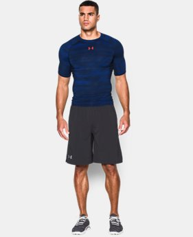 Men's UA HeatGear® Armour Printed Short Sleeve Compression Shirt  3 Colors $19.99 to $24.99