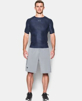 Men's UA HeatGear® Armour Printed Short Sleeve Compression Shirt  1 Color $18.74 to $24.99