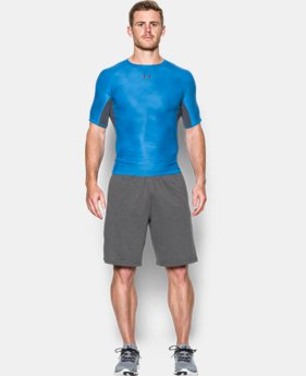 Men's UA HeatGear® Armour Printed Short Sleeve Compression Shirt  2 Colors $32.99