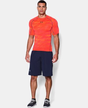 Men's UA HeatGear® Armour Printed Short Sleeve Compression Shirt LIMITED TIME: UP TO 30% OFF 2 Colors $18.74 to $24.99