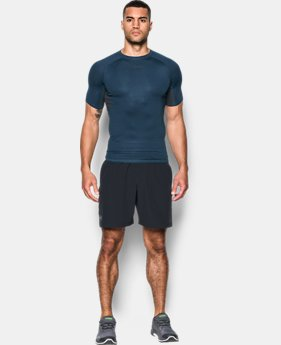 Men's UA HeatGear® Armour Printed Short Sleeve Compression Shirt  10 Colors $32.99
