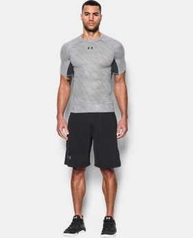Men's UA HeatGear® Armour Printed Short Sleeve Compression Shirt  2 Colors $18.74 to $24.99