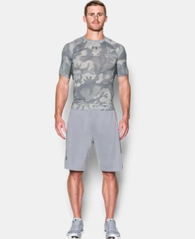 Men's UA HeatGear® Armour Printed Short Sleeve Compression Shirt  1 Color $32.99