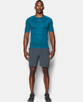 Men's UA HeatGear® Armour Printed Short Sleeve Compression Shirt  1 Color $23.09 to $23.99