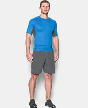 Men's UA HeatGear® Armour Printed Short Sleeve Compression Shirt  6 Colors $32.99